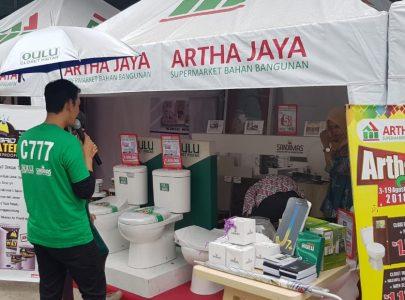 Artha Fair, Diskon Bahan Bangunan & Perlengkapan Rumah Besar-besaran