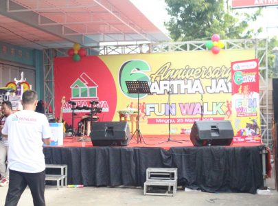 Fun Walk dalam rangka Anniversary Artha Jaya ke-6th